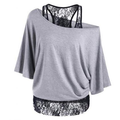 2017 Autumn Women Loose Casual Tops..