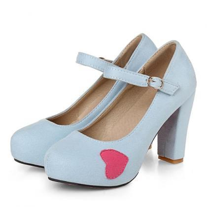 Pumps Women College Style Platform ..